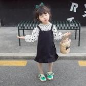 女童裝 女童春裝2019新款寶寶時髦洋氣套裝裙3歲4女孩衣服夏季兒童童裝潮【快速出貨八折搶購】