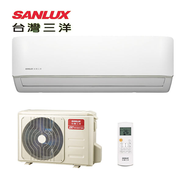 台灣三洋SANLUX 一對一變頻單冷空調(時尚型)SAE-V28F/SAC-V28F(基本安裝)