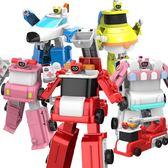 嘟當曼兒童變形消防車救護車變形機器人玩具男孩都鐺曼慢漫