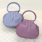 中年女士手提包小圓包休閒手拎包媽媽迷你小包包買菜零錢包手機包 科炫數位