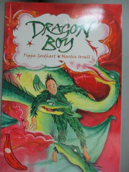 【書寶二手書T5/原文小說_BGW】Dragon Boy_Goodheart, Pippa