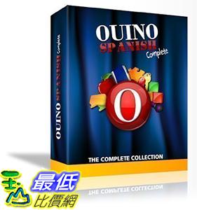 [106美國直購] 2017美國暢銷軟體 Ouino Spanish: The 5-in-1 Complete ( PC, Mac, iPad, Android, Chromebook)
