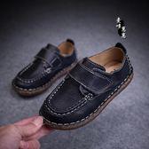男童柔軟單鞋透氣英倫風皮鞋