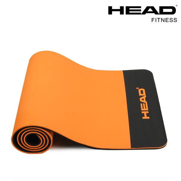 HEAD海德 台灣製造專業瑜珈墊/運動墊12mm  加厚防滑 環保材質 WELLCOME好吉康