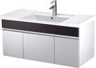 【台灣吉田】LOP-8300-1 101cm全發泡桶身/水晶面板 浴櫃組