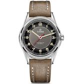 TITONI 梅花錶 傳承系列 經典機械腕錶 83019S-ST-638 碳黑