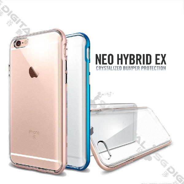 Spigen SGP Apple iPhone 6/6S Plus Neo Hybrid EX 強化邊框透明軟殼