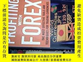 二手書博民逛書店Profiting罕見With Forex: The Most