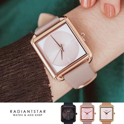 KETINY掌上的日光方型圓面皮革手錶【WNI049】璀璨之星☆