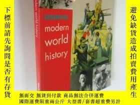 二手書博民逛書店英文原版罕見Modern World History: Student s Book (History in Fo