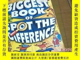 二手書博民逛書店BIGGEST罕見BOOK OF SPOT THE DIFFRENCEY185017 BIGGEST BOOK