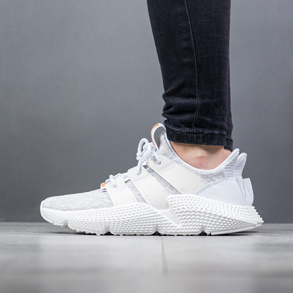 IMPACT Adidas Originals Prophere 白 粉 灰 流線型 雪花編織 老爹鞋 CQ2542