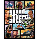 [哈GAME族]降價再到貨●含實體地圖及7片安裝光碟●PC 俠盜獵車手5 中文版 實體版 GTA5 R星帳號