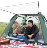 帳篷戶外 帳篷戶外野營單人家用野外露營防暴雨加厚全自動  莎瓦迪卡