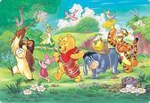 【拼圖總動員 PUZZLE STORY】愉快的音樂 日系/Tenyo/迪士尼/小熊維尼/兒童/60P/紙板