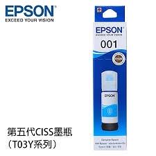 EPSON T03Y200藍色 T03Y系列  原廠墨水匣 適用以下主機 :L4150/L4160/L6170/L6190