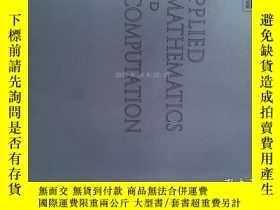 二手書博民逛書店Applied罕見Mathematics and Computation (Journal) 15 01 2017