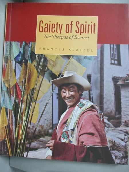 【書寶二手書T5/社會_YGX】Gaiety of Spirit_Frances Klatzel