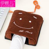 USB暖手鼠標墊 發熱保暖鼠標墊卡通電暖寶寶加熱冬季鼠『優尚良品』YJT