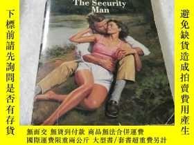二手書博民逛書店The罕見Security Man【英文原版】Y6856 Dix