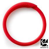 炫彩動感負離子能量手環-紅 MASSA-G