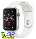 [COSCO代購] W125292 Apple Watch Series 5 (GPS + 行動網路),44 公釐銀色鋁金屬錶殼搭配白色運動型錶環