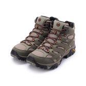 MERRELL MOAB 2 MID GORE-TEX 健走鞋登山鞋 橄欖綠/棕 ML42475 男鞋