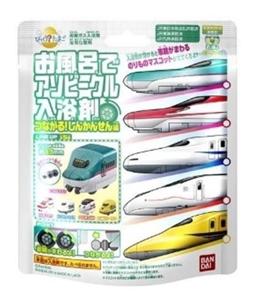 BANDAI萬代 日本 新幹線 JR 各社車輛 發泡入浴劑 沐浴球 入浴球 泡澡球