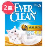 【Ever Clean】藍鑽歐規結塊貓砂-9kgX2盒-粗顆粒低塵