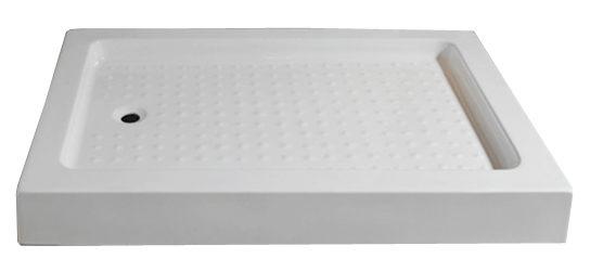 【麗室衛浴】方型壓克力淋浴底盆 B-504-1 寬75或80*長120*高14CM