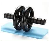 健腹輪 靜音環保PU雙輪|健腹輪|腹肌輪|健身輪|減腹輪滾輪 萬寶屋