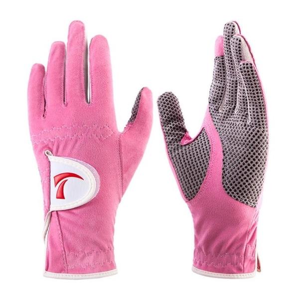 加長版 TYGJ 高爾夫球手套 1雙 女士防滑透氣超纖布手套 左右雙手 快速出貨