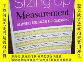二手書博民逛書店Sizing罕見Up Measurement: Activiti