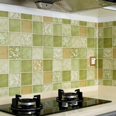 防油紙 廚房防油貼紙耐高溫櫃灶台用加厚防水自黏瓷磚翻新牆貼防油煙牆紙 歐歐