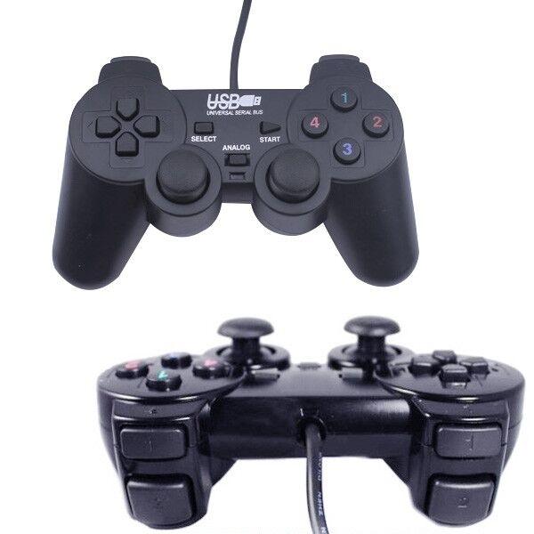 遊戲手把 USB手把 遊戲搖桿 [支援震動] 隨插隨用 熱插拔 PC 電腦遊戲(78-1877)