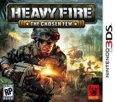 3DS Heavy Fire: The Chosen Few 3DS 猛烈炮火:選擇題3DS(美版代購)