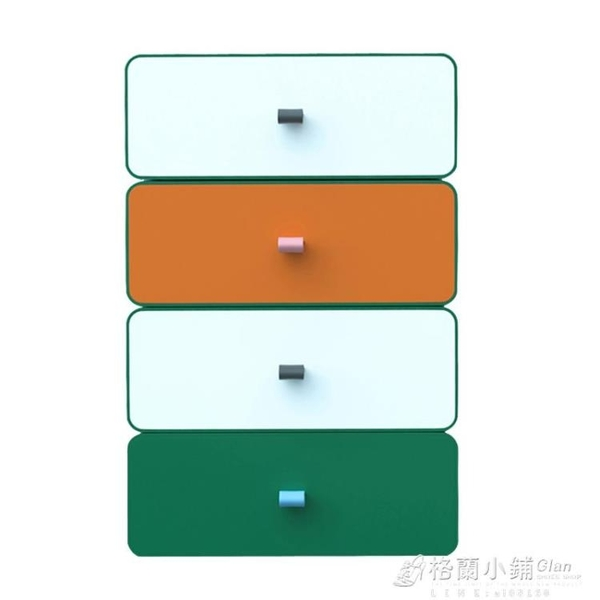 辦公桌面收納盒小抽屜式收納櫃學生書桌上文具盒子雜物整理儲物箱ATF 格蘭小舖 全館5折起