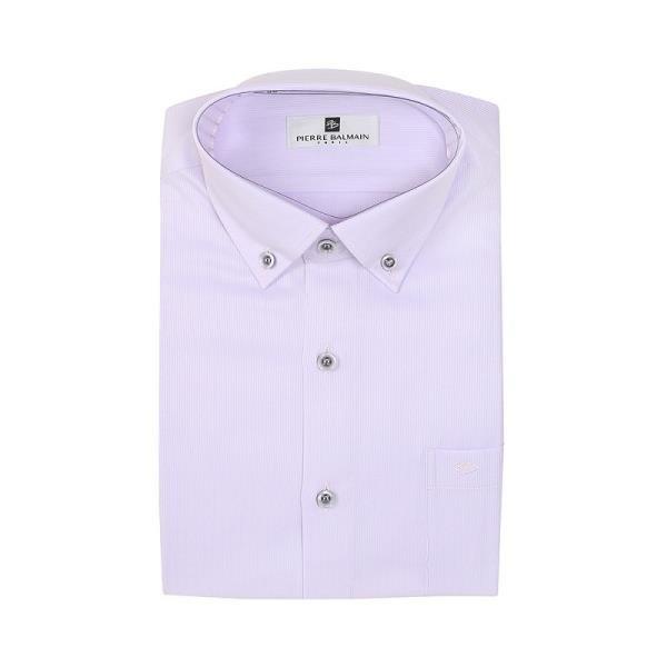 【南紡購物中心】【PIERRE BALMAIN 皮爾帕門】長袖襯衫-白底緹花(F1)