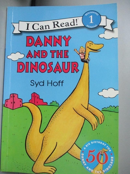 【書寶二手書T4/原文小說_QDD】Danny and the Dinosaur_Hoff, Syd
