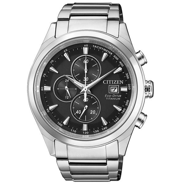CITIZEN Eco-Drive  浪人旅程光動能時尚腕錶-CA0650-82F