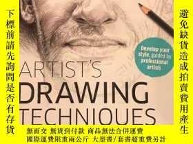 二手書博民逛書店原版罕見Artist s Drawing Techniques 藝術家的繪畫技巧Y302154 DK DK I
