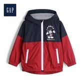 Gap男幼童童趣迪士尼印花連帽外套520263-海軍藍