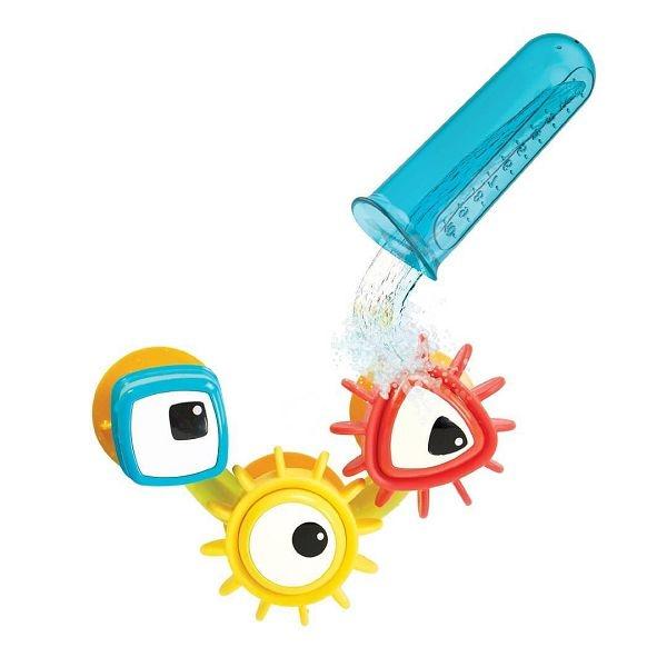 以色列 Yookidoo 轉轉齒輪試管組/洗澡玩具