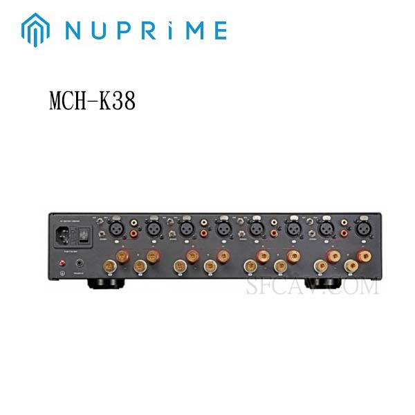 【勝豐群竹北音響】NUPRIME MCH-K38 8聲道後級擴大機-預購