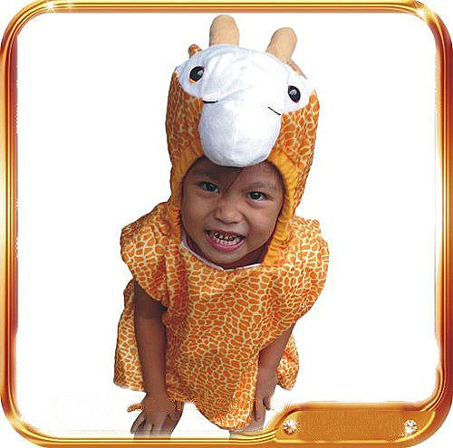 萬聖節聖誕節化妝舞會角色扮演動物造型衣動物裝可愛動物服裝道具-長頸鹿