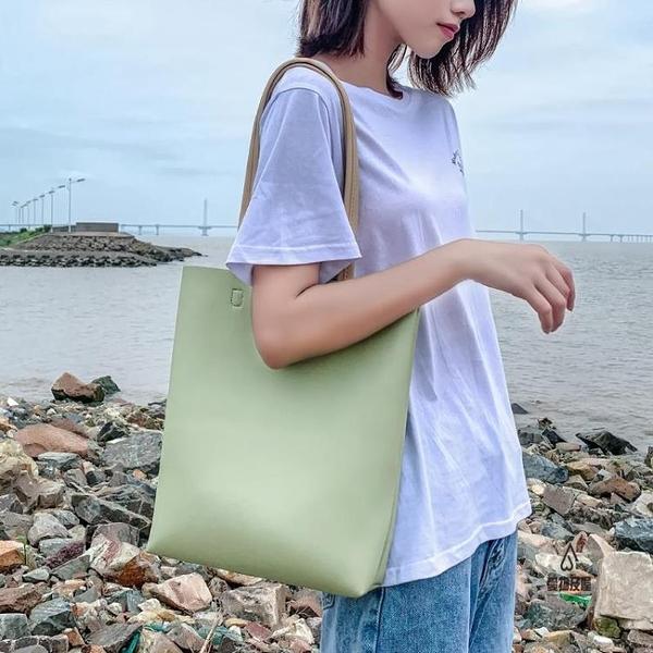 手提包側背包女大容量斜背包百搭手拎包休閒【愛物及屋】