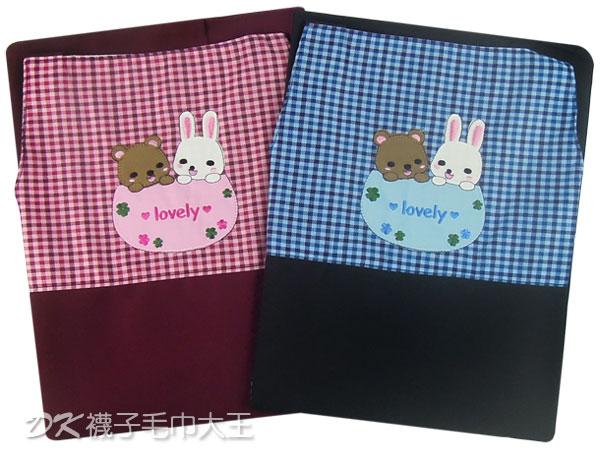 台灣製 好麻吉貼布圍裙 TT505 ~DK襪子毛巾大王