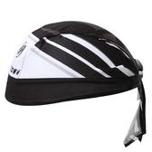 自行車頭巾 抗紫外線-時尚帥氣雙色造型男女單車運動頭巾73fo66【時尚巴黎】