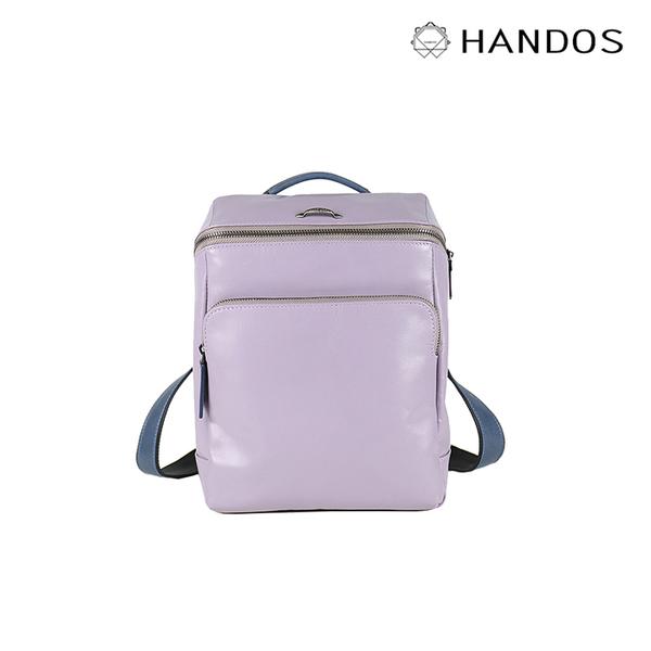 HANDOS|Cosmopolitan 輕巧羊皮時尚後背包 - 粉紫 ↘76折價