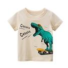 帥氣墨鏡恐龍短袖上衣 童裝 短袖上衣